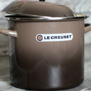 "COOKING WITH ""LE CREUSET"": POT STICKER AND KALE SOUP RECIPE"