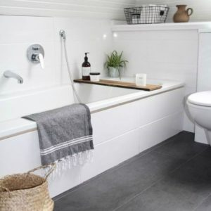 Five easy ways to create a more spacious bathroom