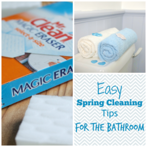 EASY SPRING CLEANING TIPS FOR THE BATHROOM
